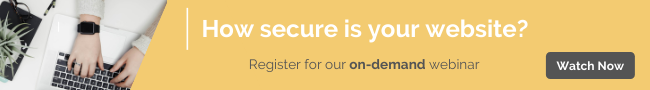 How secure is your website? On-demand webinar by Cantarus
