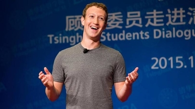 Mark Zuckerberg Presenting